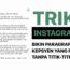 Trik Instagram: Bikin Paragraf Rapi Tanpa Titik