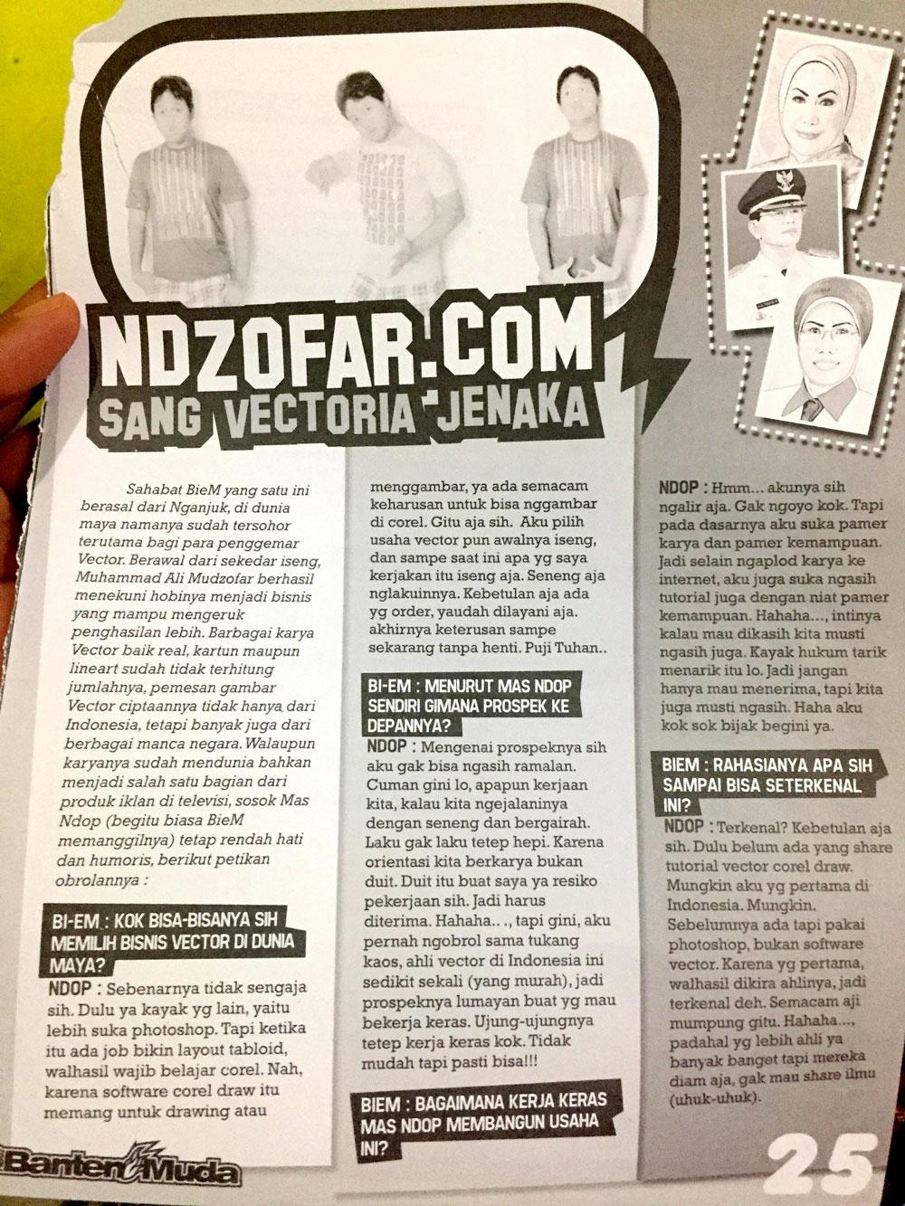 Majalah Banten Muda 1