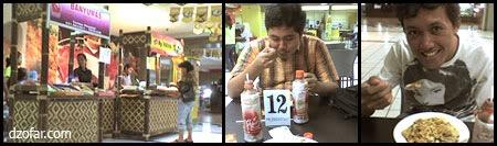makan pekmpek di haitech mall