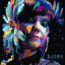 Karya WPAP (Wedha's Pop Art Portrait): Bjork