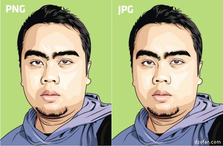PNG dan JPG