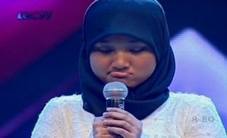 Fatin nyaprut ketika nyanyin Pumped Up Kicks