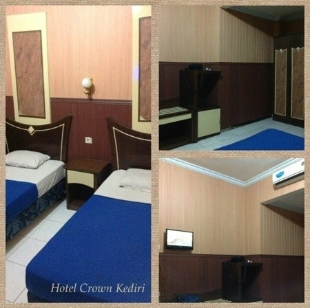 kamar crown hotel kediri