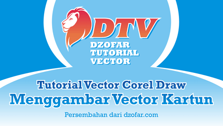 Cover Tutorial Vector Kartun