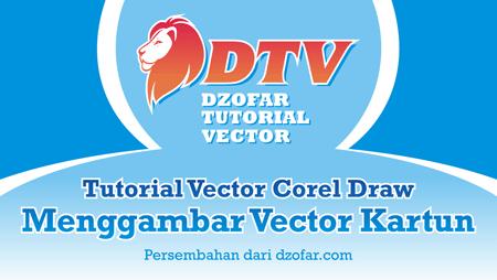 Cover Tutorial Vector Kartun