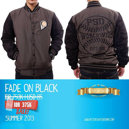 Fade On Black diskon 50 persen