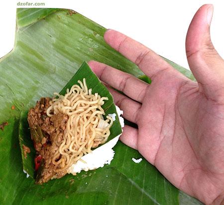 Nasi bantingan