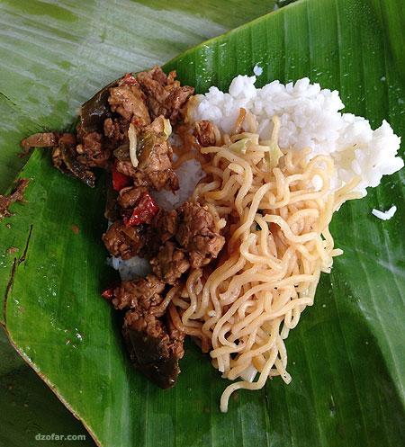 Nasi bantingan 2
