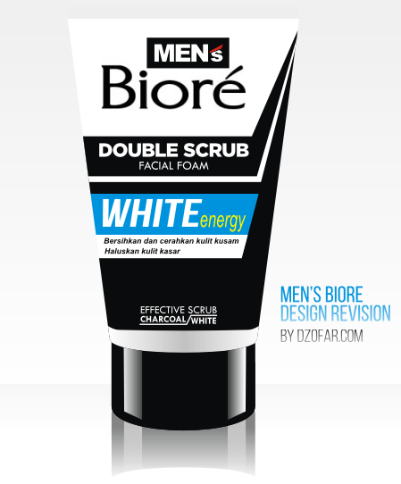 Biore Men's White Energy