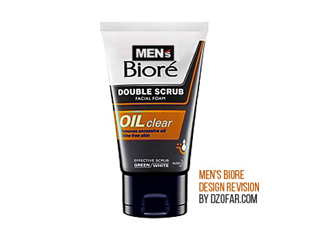 MEN'S BIORE OIL CLEAR