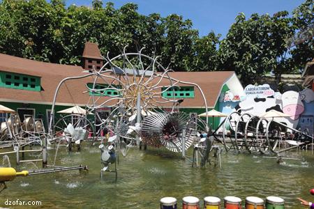 Kolam Musik di Eco Green Park