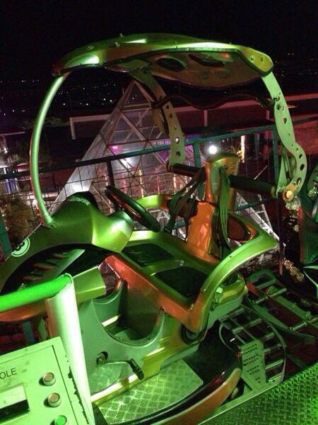 Sepeda Udara di Batu Night Spectacular