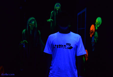 Neon Light di 3D Ghost Haunter