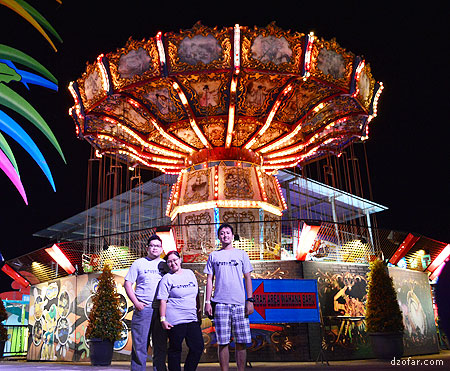 Foto bareng di Batu Night Spectacular
