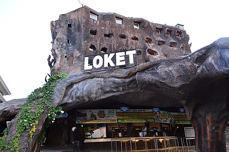 Loket Batu Secret Zoo