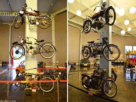 Sepeda motor museum angkut