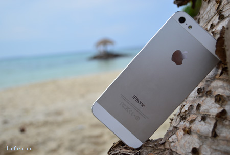 iPhone Pantai Batu Topeng