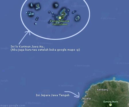 Karimun jawa dalam peta