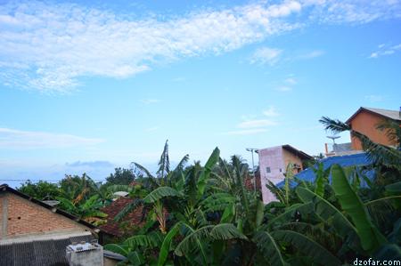 Karimun Jawa pagi hari di homestay Lishafah