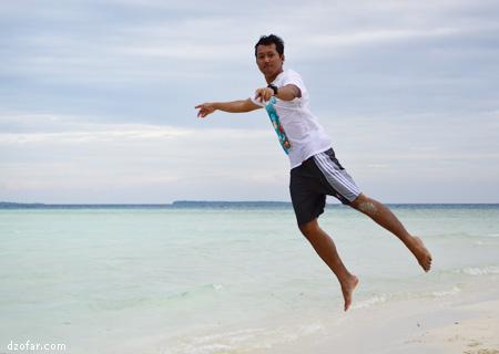 Levitasi di pulau cemoro kecil