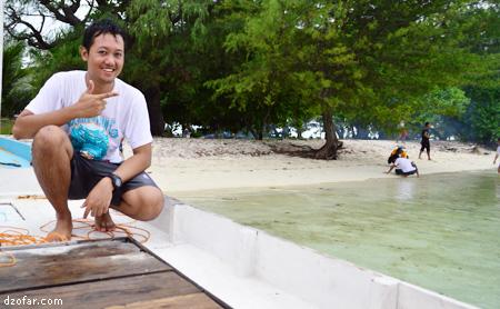 Pulau Cemara Kecil dan aku