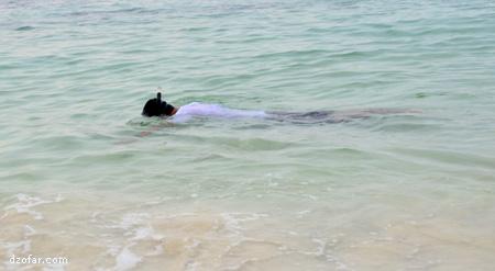 akhirnya bisa Snorkeling