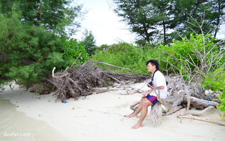 Sudut pulau Cemoro Kecil lainnya
