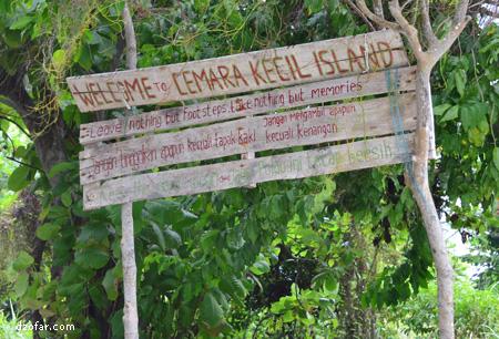 Welcome to Cemara Kecil Island