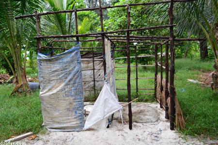Toilet di Pulau Cemoro Kecil
