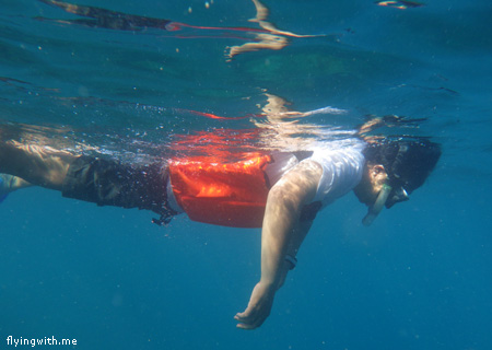 Adit Snorkeling