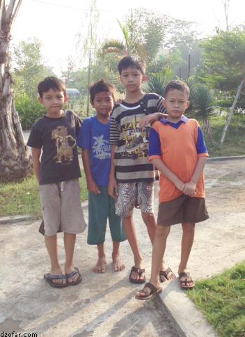 Geng Arjuno Junior di Taman Pintar