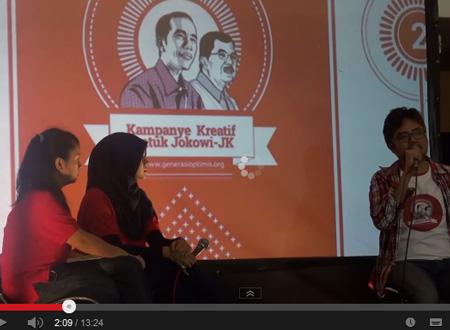 kampanye kreatif Jokowi