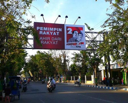 Jokowi di Pamekasan