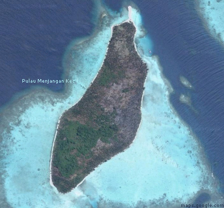 Pulau Menjangan Kecil Karimun Jawa