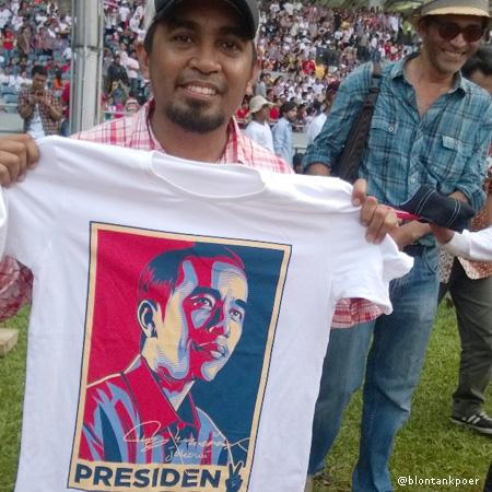 kaos Jokowi Glenn Fredly