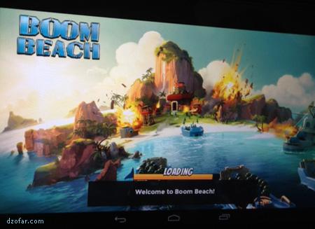 Boom Beach di Kindle Fire
