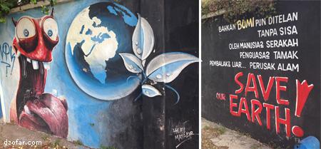 Mural Save Earth