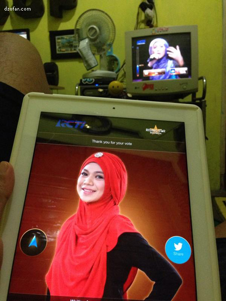 Rising Star Indonesia Indah Nevertari