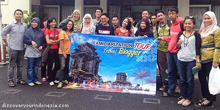Travel Blogger peserta fam trip jateng 2014