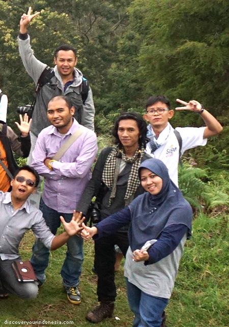Fahmi, Ari, Oryza, Yofangga, Halim, Mbak Dinas Pariwisata