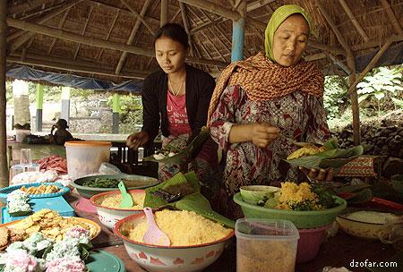 Penjual Nasi Jagung