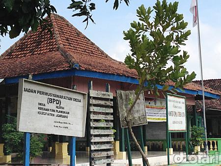 Kantor Kepala Desa Klitih kecamatan Plandaan kabupaten Jombang
