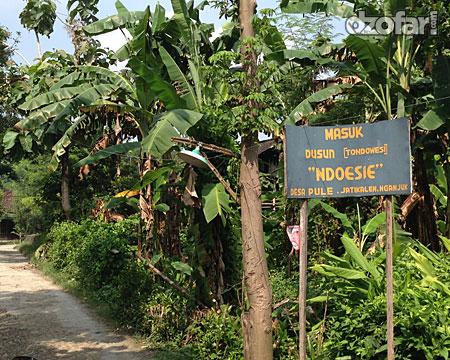 Masuk desa Tondo Wesi