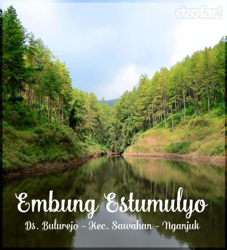 Embung Estumulyo Sawahan Nganjuk