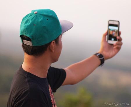 Selfie dulu