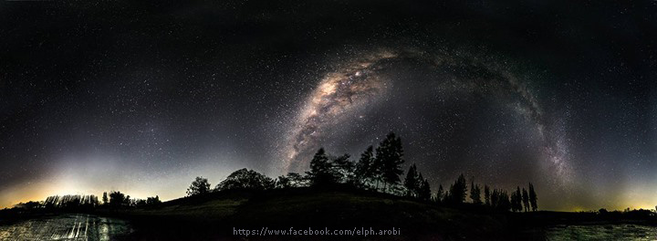 Milky way waduk perning