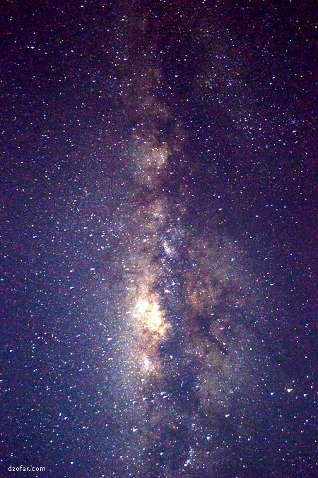Milky Way karya Dzofar.com