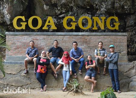 Pintu Masuk Goa Gong