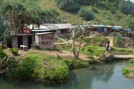 Fasilitas Air Terjun Banyu Tibo