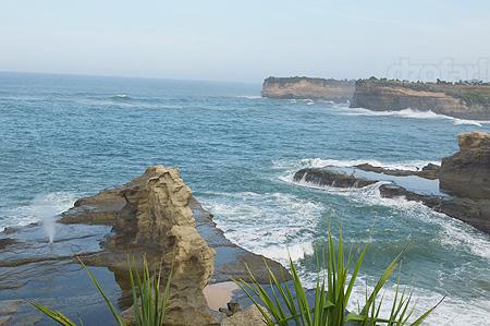 Pantai Klayar dari Bukit Indah Lestari
